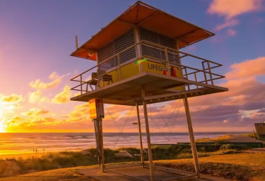 Gold Coast in time-lapse