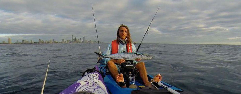 Success at kayak fishing