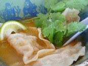 Crab Wonton Soup: Sally Jenyns