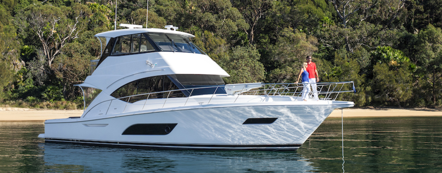 Riviera's new 57 Enclosed Flybridge is the embodiment of innovation