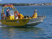 Sea Wasp  Straddie's rescue boat