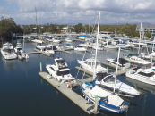 An interim of energy at Runaway Bay Marina