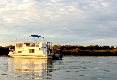 Houseboating in Noosa