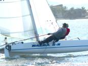 From ski to sail: Kerry Noyes