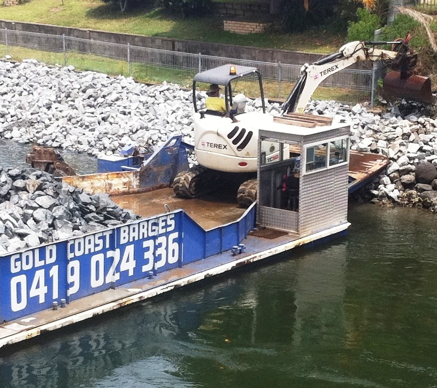 GOLD COAST BARGES AND CANAL MAINTENANCE