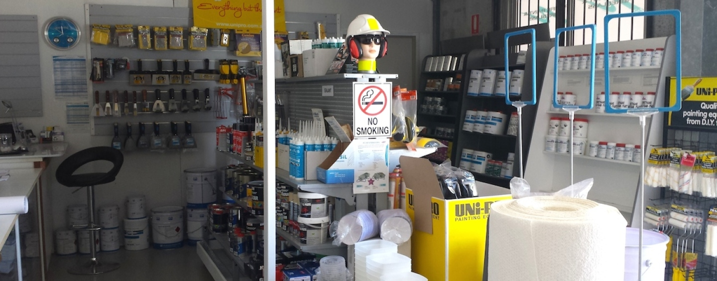 Pacific Paint & Fibreglass New Store Opens to Trade and Public