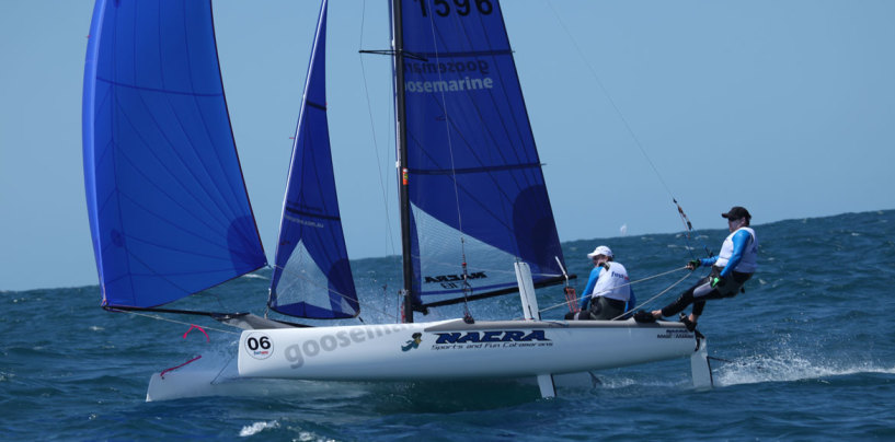 Paradise Point Sailing Club hosts Jupiters Pan Pacific Masters 2014