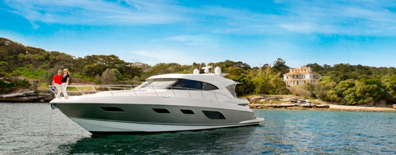 Riviera 6000 sport yacht makes her Queensland premiere