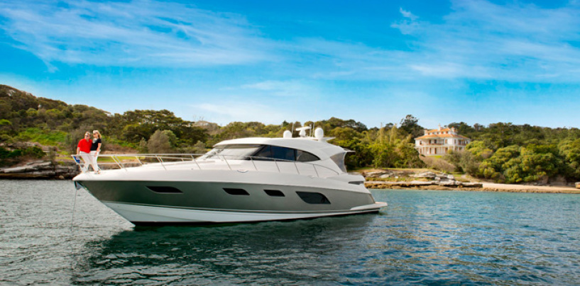 Riviera 6000 sport yacht makes her Queensland premiere