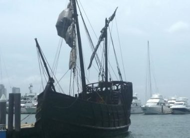 PIRATE SHIP ALERT AT MARINA MIRAGE