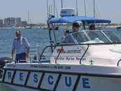 Marine rescue vessel launched