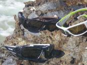 Floating sunglasses with eyesight protection