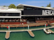 Shop and dine by boat