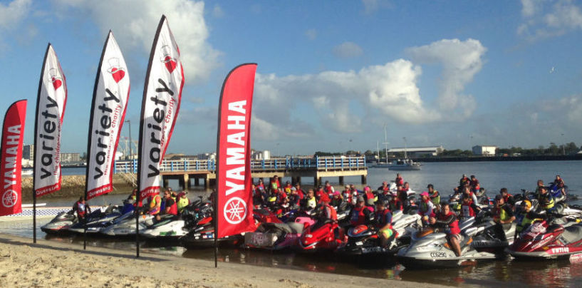 Trekkers make waves for a good cause