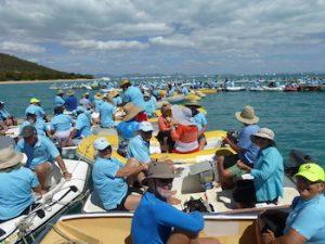Shag Islet Cruising yacht ClubTrippin Turpins