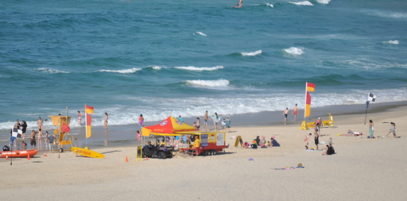 Boaties and the Red-Yellow flags