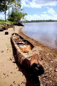 aboriginal canoe