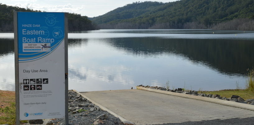 Improvements at Hinze Dam