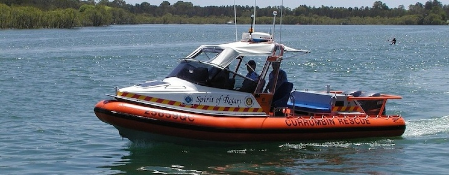 Watching over the bars: Marine Rescue Currumbin
