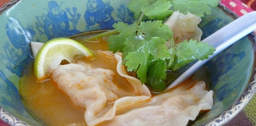 Crab Wonton Soup: Sally Jenyns
