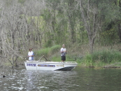 Tranquil Bass Fishing at Hinze Dam