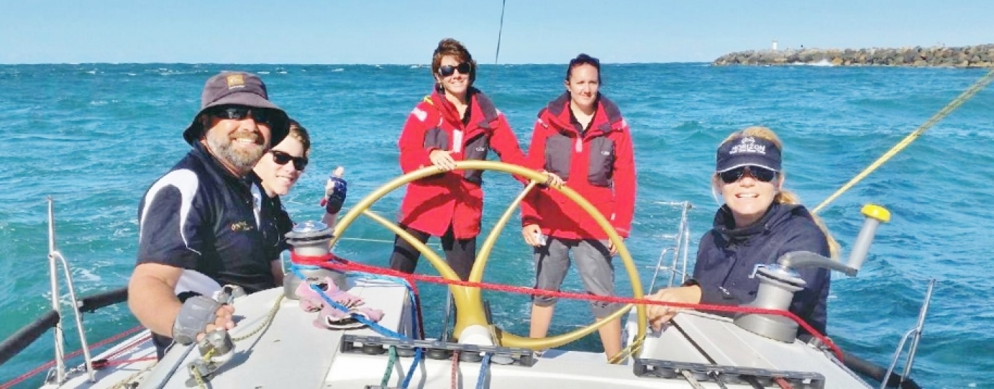 Onyx Sailing with the New Generation