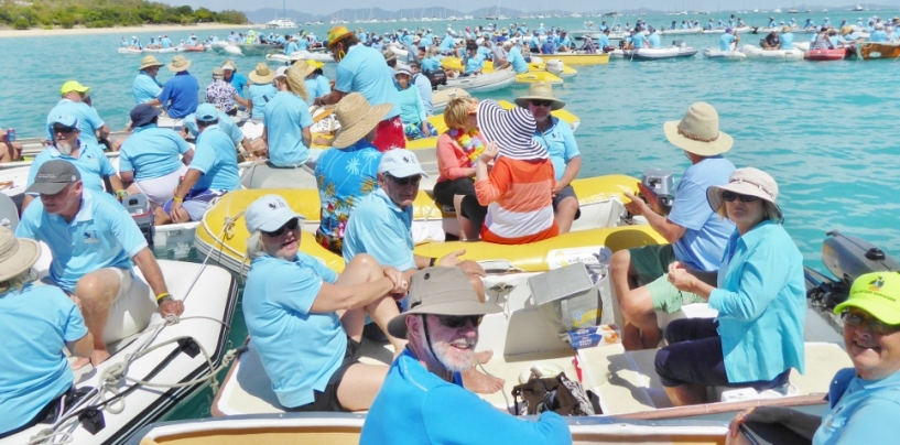 200 Boats to Party at Shag Islet