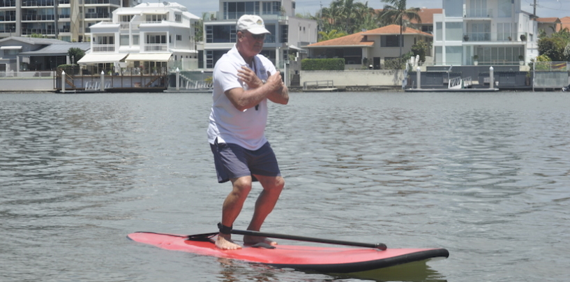 Zen on the SUP
