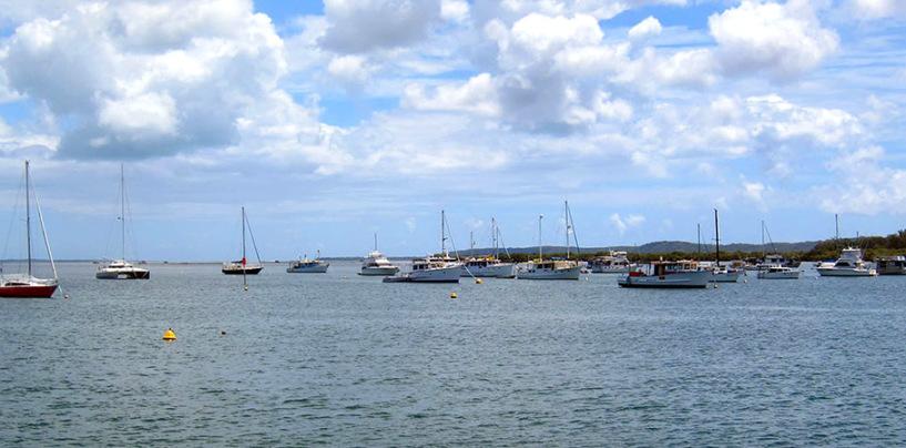 Island Hopping on Moreton Bay