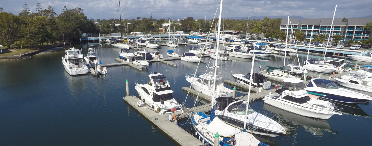 An interim of energy at Runaway Bay Marina