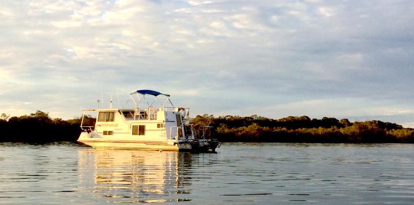 Houseboating in Noosa