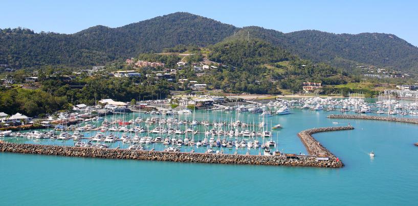 Drop anchor at Abell Point Marina