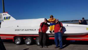 Spirit of Australia ken warby