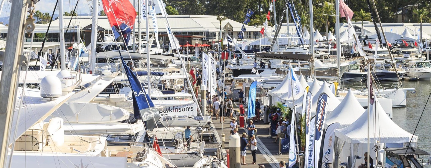 Champagne Sailing at Sanctuary Cove Boat Show 2017