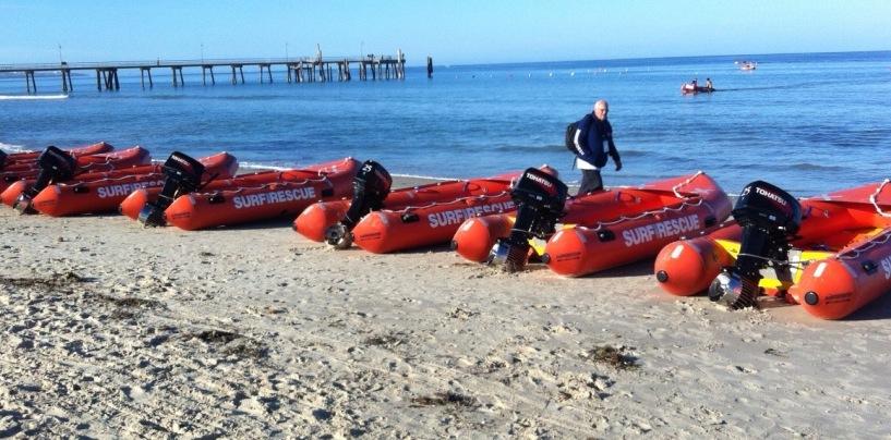 Thundering Life Saving Boats