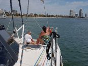 Sailing on the Broadwater: Visitor's Perspective