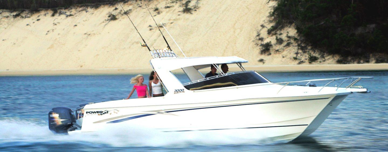 PowerCat: Fibreglass Catamarans