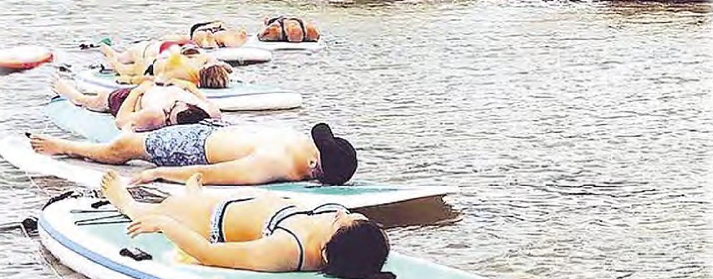Yoga + SUP