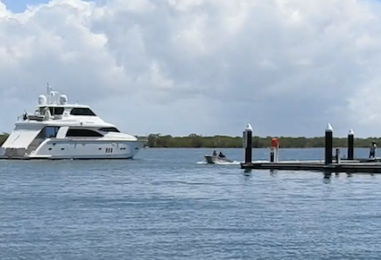 Trial Speed Limits at Coomera South Arm