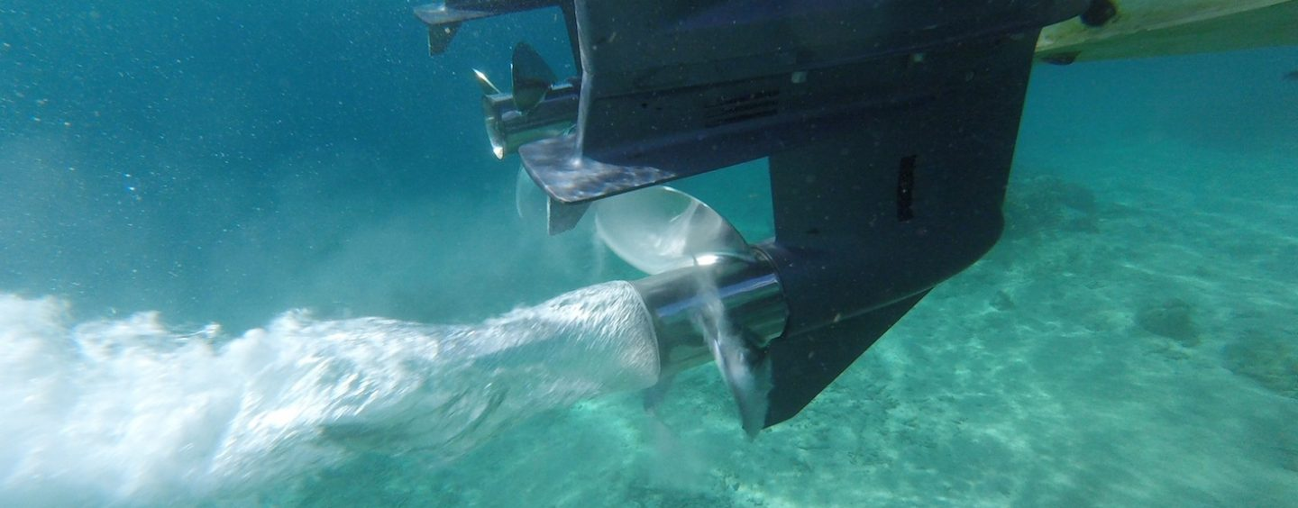 Keep Propellers Propped Up