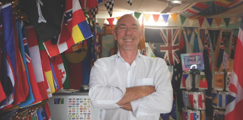 Palmer Makes Flags