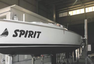 Paint Work for Spirit