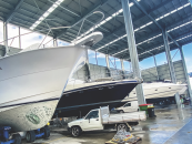 Gold Coast City Marina: New Sheds and Busy Yard