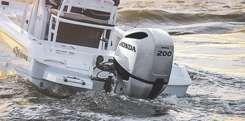 Honda V6 Range Outboard
