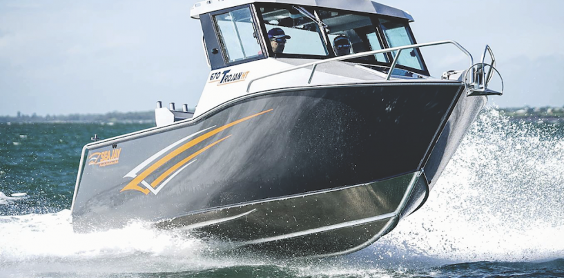 Trojan 670: Cutting-Edge Sea Jay Samurai Hull