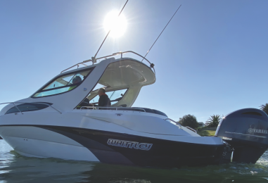 Whittley CR2600 OB: Outboard Powered and Legally Trailerable