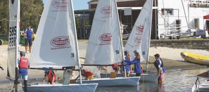 Introducing Kids to Sailing