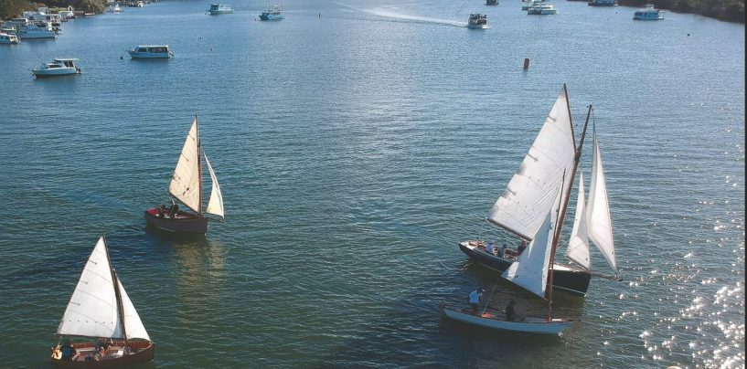 MOONLIGHT TO RACE AT THE NOOSA GAFF RIG REGATTA