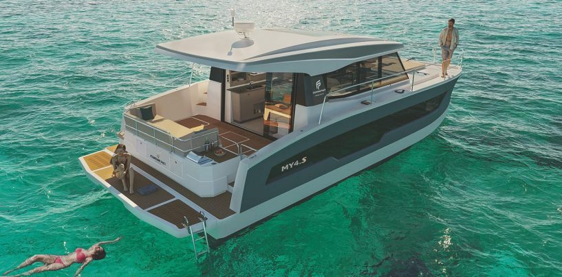 FOUNTAINE PAJOT MOTOR YACHTS UNVEILS NEW MY4.S