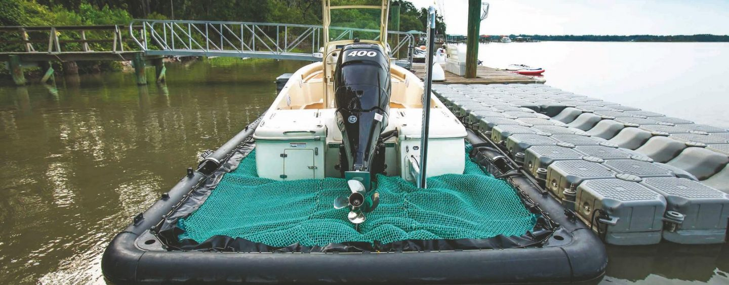 DRY DOCKING YOUR BOAT AT WATER LEVEL